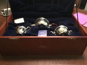 Royal Selangor pewter tea set