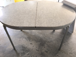 2 nice old  kitchen tables