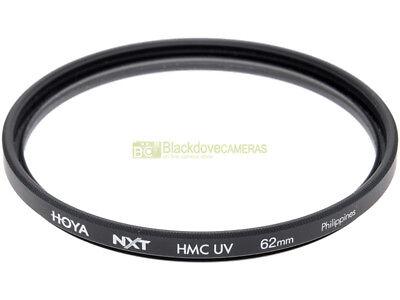 62mm. filtro HMC UV Hoya NXT. Ultra Violet Filter.