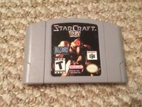 StarCraft 64. Awesome game, not too easy to find