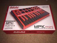 Special Edition AKAI MPK Mini, MIDI Keyboard