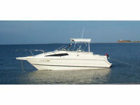 $OBO 1998 2655 BAYLINER CIERA WELL MAINTAINED, A/C, WITH TRAILER