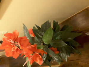 Silk flower kijiji in calgary buy sell save with canadas 1 new artificial silk flowers with vase size h mightylinksfo