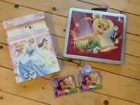NEW - Disney colouring set and purses