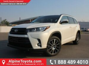 2017 Toyota Highlander XLE AWD SE Package  Heated Seats - Sunroo