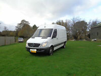 LHD Mercedes-Benz Sprinter 2.2 bi turbo 5000kg LEFT HAND DRIVE 2010 AUTOMATIC