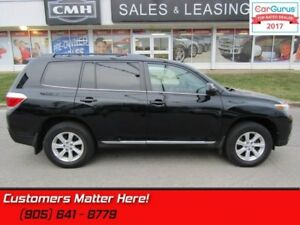 2011 Toyota Highlander Sport  4X4 NAV CAM PWR-GATE DVD 7-PASS RE