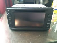 TOYOTA GT86 double din touch radio RRP 800£ offers BRAND NEW NEVER BEEN USED PRESTINE