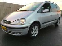 2004 Ford Galaxy 1.9TDi ( 115ps ) GHIA, 7 seater, 14 service stamps FSH,