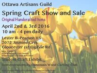 SPRING CRAFT SHOW & sale - CALL for VENDORS