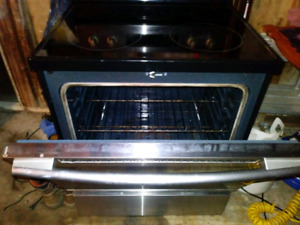 Samsung stove, stainless steel