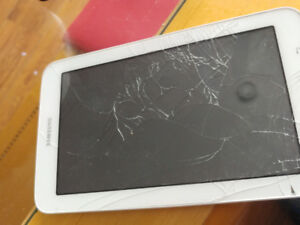 Samsung Galaxy Tablet (Cracked Screen)