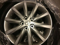 2012 lexus ct 200h alloy rim mount on bridgestone turanza tire w