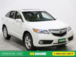 2014 Acura RDX AWD MAGS BLUETOOTH CUIR CAMERA RECUL TOIT OUVRANT