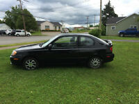 2004 Hyundai Accent - Coupe (2 door),  $900.obo