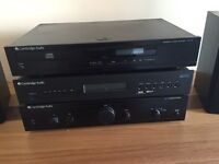 3 x Cambridge separates (CD, Tuner & Amp) and 2 x Gale Speakers. ***REDUCED***
