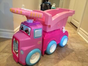 Camion rose little tikes