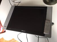 Philips 20 inch flat tv television