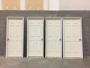 Six Panel Doors with Hardware