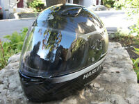 FXRG Carbon Kevlar Motorcycle Helmet,  Mens Small – MINT!