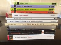 12 books used in yr1 of Drama studies BA