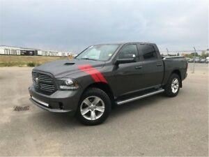 2014 Ram 1500 Sport-LEATHER-RAM HOOD AND MOR