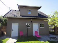 2 Bedroom LANEWAY HOUSE for $1,500 - not a basement suite