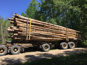 Split Firewood and Log Truck Loads