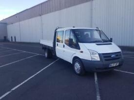 2008 57 plate Ford Transit 2.4TDCi Duratorq ( 100PS ) 350 LWB Extended Frame