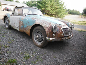 1956 MGA Convertible restoration project. Trades considered