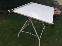 A0 drawing board with working parallel motion