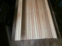 Knotty Pine Blind and Valence