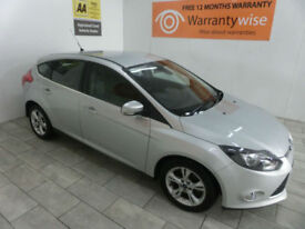 2013,Ford Focus 1.6TDCi 105bhp ECOnetic Zetec***BUY FOR ONLY £33 PER WEEK***