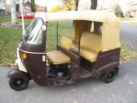 rare tuk tuk rickshaw only 150 miles on it