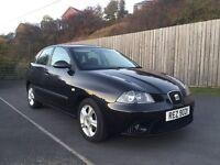 SEAT IBIZA 1.2 2008 +5 DOOR+ not vw polo Vauxhall corsa Toyota Yaris Mini Cooper
