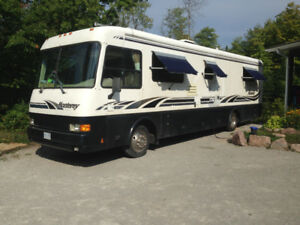 """Diesel RV 36"""" long Pusher.   Awesome Vehicle"""