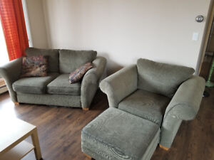 Good condition couch and chair