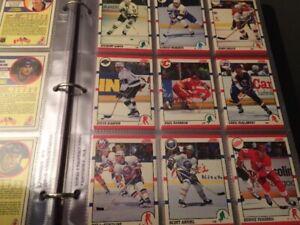 Série complète Score Hockey 1990-91 de 440 cartes