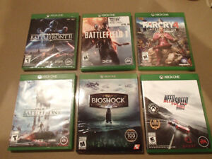 X BOX ONE GAME LOT