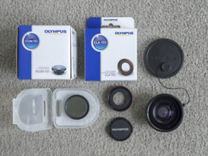 Fisheye Lens (FCON-T01) + Accessories for Olympus TOUGH Cameras