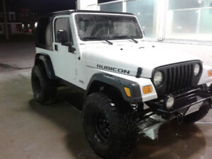 2004 Jeep Wrangler Rubicon CERTIFIED AND ETESTED