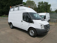 Ford Transit 350 MWB 115 Workshop Utility Van 240v 110v Maintenance, Fitter