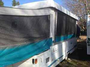 Tent trailer -  lots of trailer for the price.