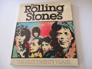 """The Rolling Stones-1981 """"The First Twenty Years"""" Book"""