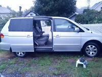 2002 Honda Odyssey 3.0 Minivan, Van