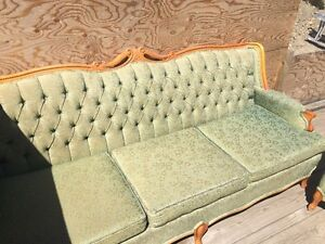 Antique Vintage Retro Couch and Chair
