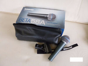Shure Beta 58A Vocal Microphone Dynamic