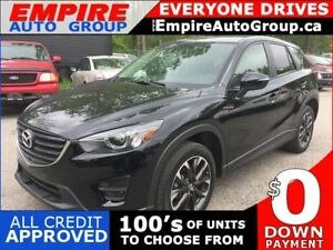 2016 MAZDA CX-5 GRAND TOURING * AWD * LEATHER * SUNROOF * NAV *