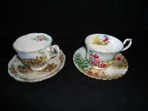 royal albert bone china country scenes land of hope cup saucer