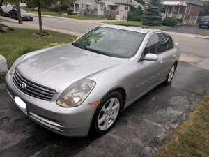 2003 Infiniti G35 4DR PRICED TO SELL